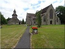 SO3958 : Pembridge church by Philip Halling