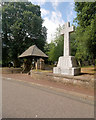 SX9166 : War Memorial and Lychgate, St Marychurch by David Dixon