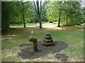 SE4536 : Snail (or snake?) in the play and picnic area, Lotherton Hall Estate by Humphrey Bolton