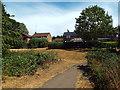 SP7363 : Path near Northampton by Malc McDonald