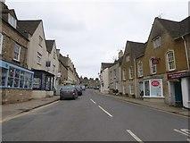 SO8700 : High Street, Minchinhampton by David Smith