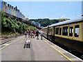 SX8851 : Dartmouth Steam Railway, Kingswear Station by David Dixon