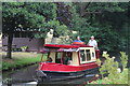 SO3003 : Pleasure boat on canal, Mamhilad by M J Roscoe