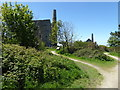 SW7044 : Approach to Wheal Peevor by Chris Allen
