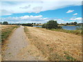 SP7769 : Path at Pitsford Water, Northamptonshire by Malc McDonald