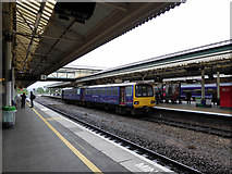 SX9193 : A 'Pacer' unit at Exeter St David's Railway Station by John Lucas