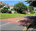 ST3089 : SLOW/ARAF on Barrack Hill, Newport by Jaggery