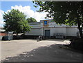 ST3089 : Aldi inward goods area, Crindau, Newport by Jaggery