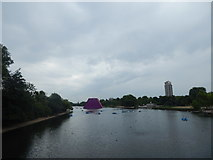 TQ2780 : The Serpentine, Hyde Park by Hamish Griffin