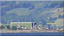 NS0769 : Ardmaleish Point shipyard by Thomas Nugent
