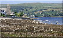 NS0767 : Shore at Port Bannatyne by Thomas Nugent