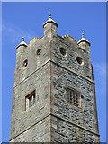 NS0767 : St Ninian's Church tower by Thomas Nugent