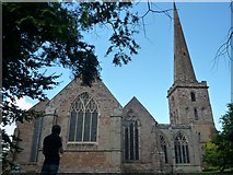 SO7137 : St. Michael & All Angels Church (Ledbury) by Fabian Musto