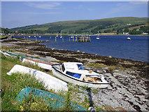 NS0767 : Boats at Shore Road by Thomas Nugent