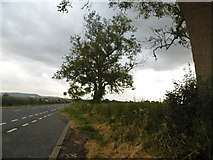 SO7505 : Layby on the A38 Roman Road, Claypits by David Howard