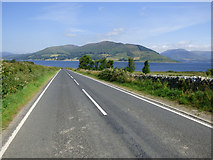 NS0769 : The A886 Rhubodach Road by Thomas Nugent