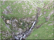 NH0217 : Fall on the Allt Grannda by Richard Webb