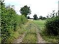 NY4141 : Farm track near Hurst by Oliver Dixon
