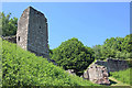 SJ5359 : The Outer Gatehouse of Beeston Castle by Jeff Buck