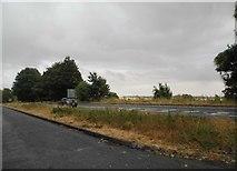 SP1513 : The A40 near Sherborne by David Howard