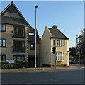TL4357 : Evening sunlight, Barton Road by John Sutton