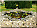 ST8663 : Ornamental pond, Great Chalfield Manor, Wiltshire by Brian Robert Marshall