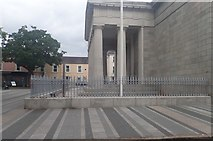 J0407 : The Portico of Dundalk's Court House by Eric Jones
