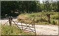 NH5550 : Wrought iron railway gates by valenta