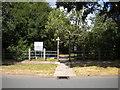 SP0181 : Entrance to Senneleys Park, Woodcock Hill by Richard Vince