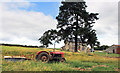 SO1743 : Old tractor al Llowes Hall by Des Blenkinsopp