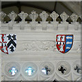 ST8663 : Shields, Church of All Saints, Great Chalfield Manor, Wiltshire (3) by Brian Robert Marshall