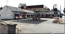 SN9768 : Sycamore Garage, East Street, Rhayader by Jaggery