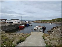 C1544 : Ballyhooriskey Harbour   by Willie Duffin