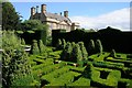 SP1732 : Knot garden and Bourton House by Philip Halling