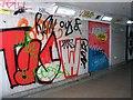 TG2208 : St Stephens underpass - artwork by Evelyn Simak