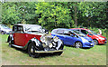 SO4565 : Rolls Royce in the car park by Des Blenkinsopp