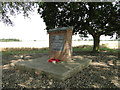 TM0298 : Deopham airfield memorial by Adrian S Pye