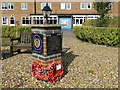 TM0798 : 8th Air Force memorial at Wymondham College by Adrian S Pye