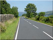 NS0571 : The A886 Rhubodach Road by Thomas Nugent