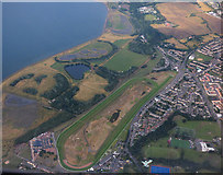 NT3473 : Musselburgh Racecourse from the air by Thomas Nugent
