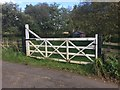 NY7786 : Level Crossing Gate and Platelayer's Hut by David Robinson