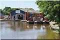 SJ5948 : Wrenbury Mill Boatyard by Stephen McKay