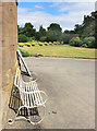 SO5063 : Seat by the Wall, Berrington Hall by Des Blenkinsopp