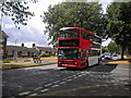 SP0081 : Bus on Cromwell Lane, Bartley Green by Richard Vince
