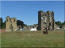 SK3616 : Ashby Castle – general view from the south by Alan Murray-Rust