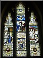 SO3360 : Window inside St. Peter's Church (Chancel | Titley) by Fabian Musto
