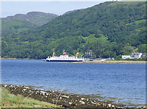 NS0374 : Ferry at Colintraive by Thomas Nugent