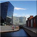 SJ3390 : Mann Island Basin, Liverpool Canal Link by Ian Taylor