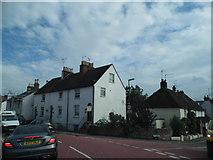 TQ3115 : Keymer Road at the junction of Lodge Lane by David Howard