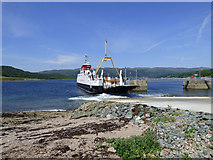 NS0374 : Ferry leaving Colinraive by Thomas Nugent